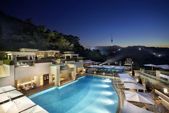 Shilla Hotel's Urban Island