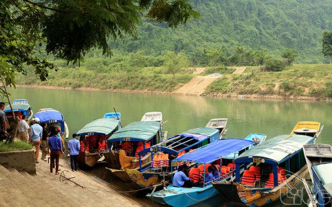 Phong Cave in Quang Binh Province (Danang Tourism Board)