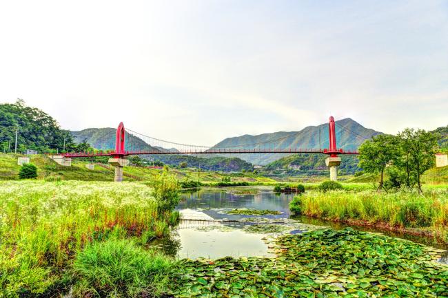 Yeongwol Riverside Detention Ponds Waterside Park (Yeongwol County Office)