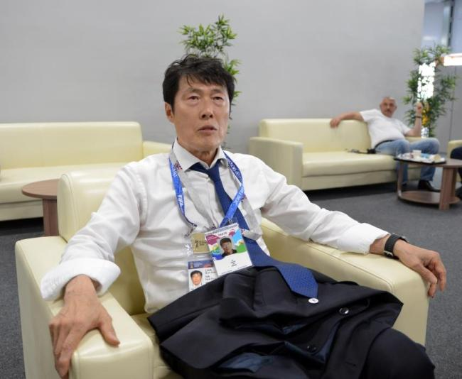 South Korean football legend Cha Bum-kun (Yonhap)
