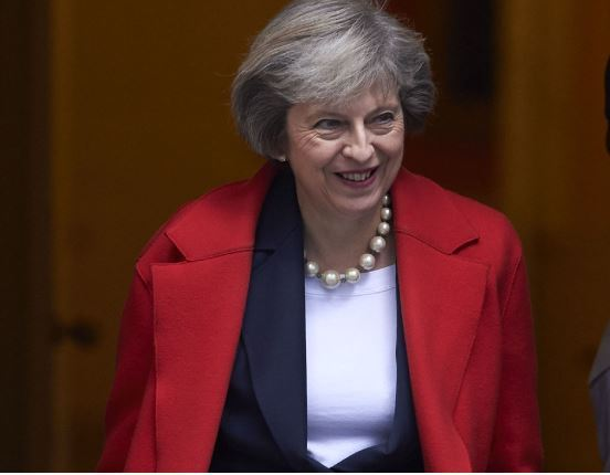British Prime Minister Theresa May (Capture of AFP photo)
