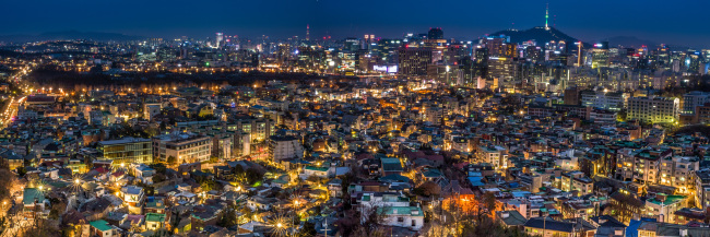 "Grand prize-winning entry ""View Over Seoul,"" by Romanian Embassy Executive Director Daniel Iordan Teodorescu (Daniel Iordan Teodorescu)"