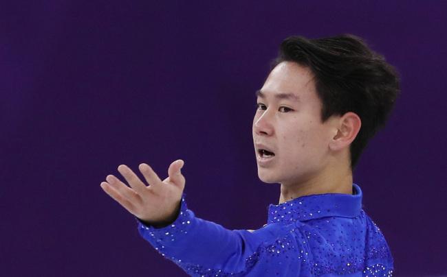 The late Kazakhstani figure skating icon Denis Yuryevich Ten (1993-2018) (Yonhap)