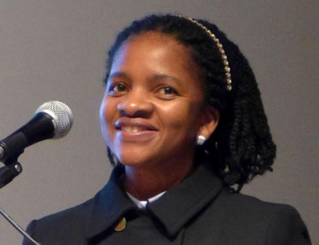 South African Ambassador to Korea Nozuko Gloria Bam (Joel Lee/The Korea Herald)