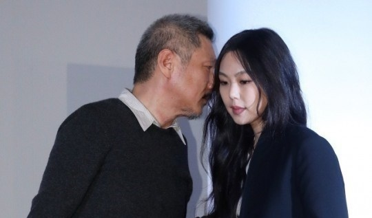 Hong Sang-soo and Kim Min-hee (Yonhap)