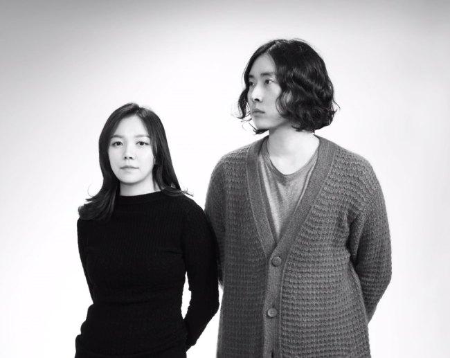 Besfxxk designers Kim Bo-na (left) and Lim Jae-hyuk