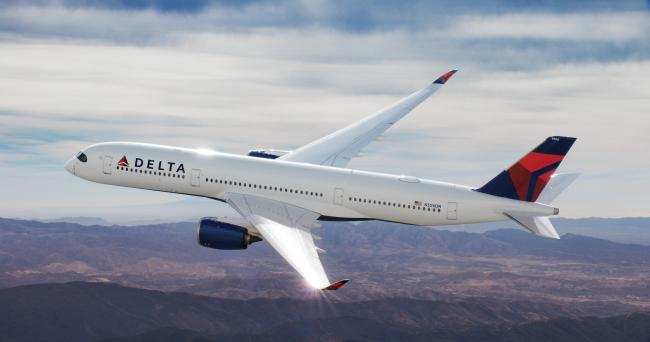 Delta Air Lines' A350-900. (Delta Air Lines)