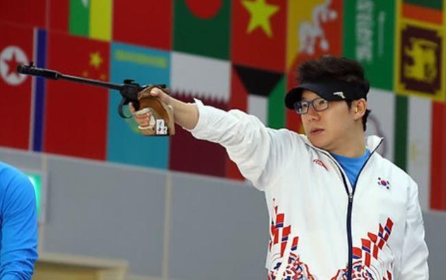 South Korean shooter Jin Jong-oh (Yonhap)