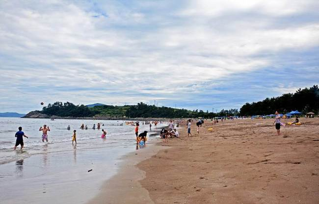 Namyeol Beach in Goheung (Goheung County Culture & Tourism)