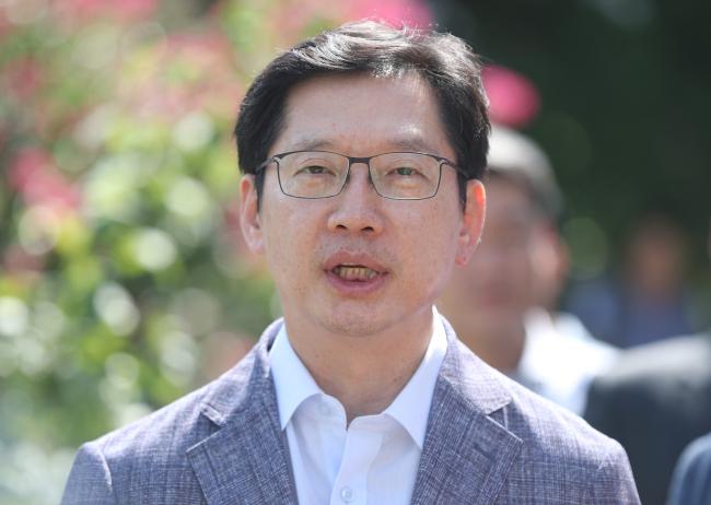 South Gyeongsang Provincial Gov. Kim Kyoung-soo (Yonhap)