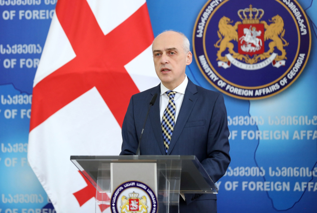 Georgian Foreign Minister Davit Zalkaliani (Georgian Ministry of Foreign Affairs)