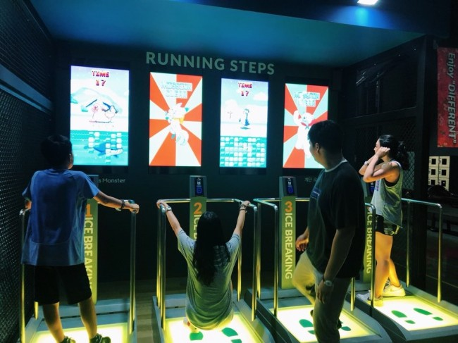 Sports Monster at Starfield Goyang (Nadine Lee/The Korea Herald)