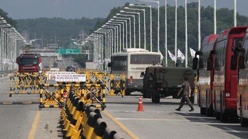 Unification Bridge in Paju, Gyeonggi Province, South Korea (Yonhap)