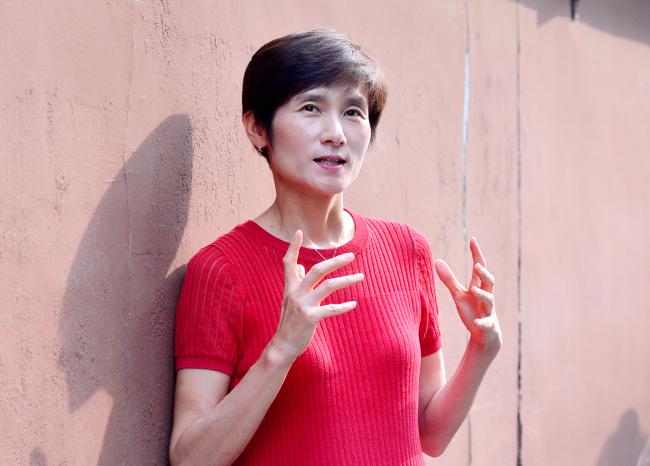 Hyun Jung-hwa (Park Hyun-koo/The Korea Herald)