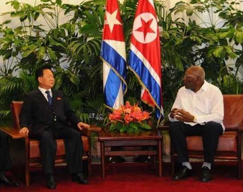 Choe Ryong-Hae, O Segundo Homem Mais Importante Da Coreia Do Norte, Visita Cuba