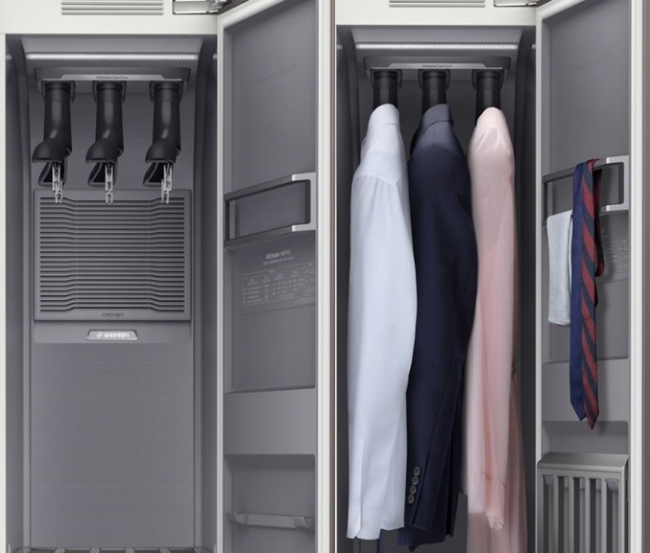 Air Dresser garment care system (Samsung Electronics Co.)