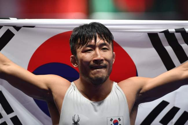 South Korean Greco-Roman wrestler Ryu Han-su (Yonhap)
