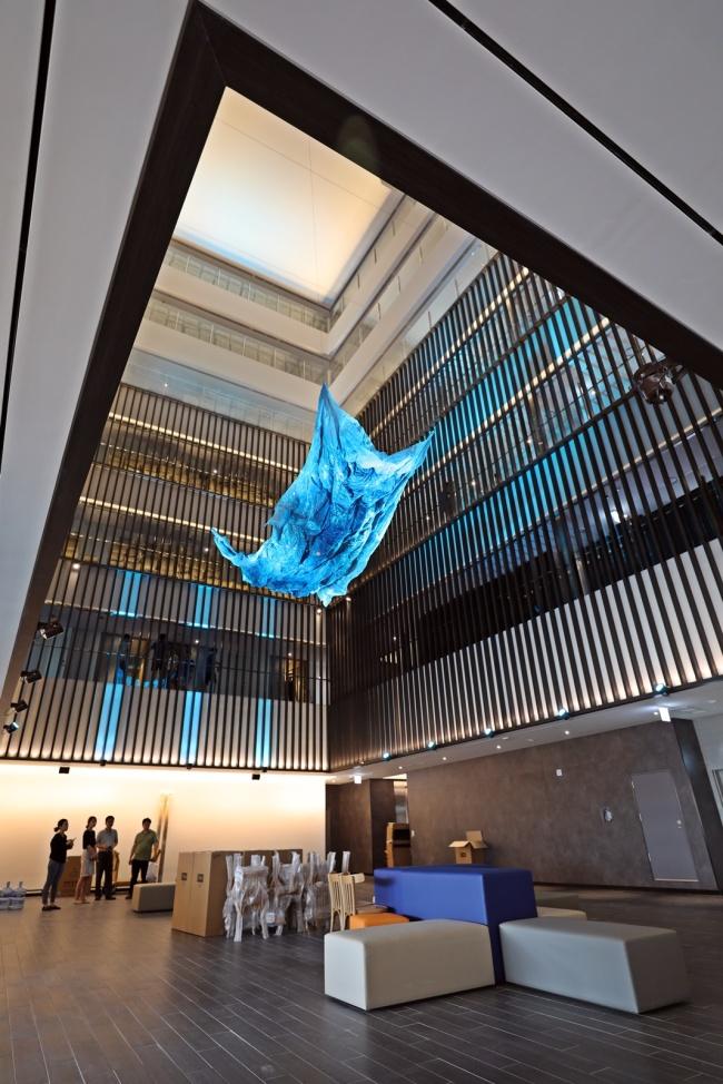 Interior view of Holiday Inn Express Seoul Hongdae. (Jeju Air)