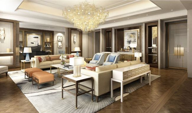 The Royal Suite in the Executive Tower (Lotte Hotels and Resorts)