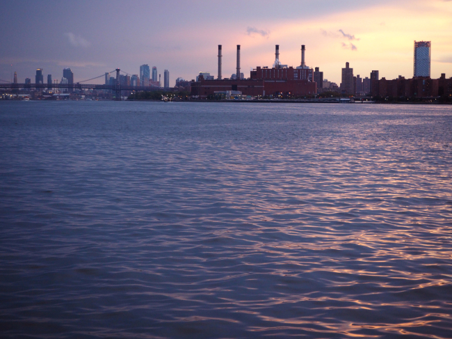 A view of Brooklyn from the East River (Joel Lee/The Korea Herald)