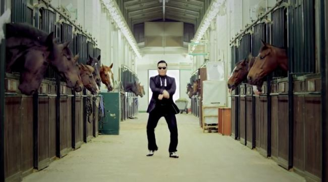 (Screen-captured from Psy`s `Gangnam Style` YouTube music video)