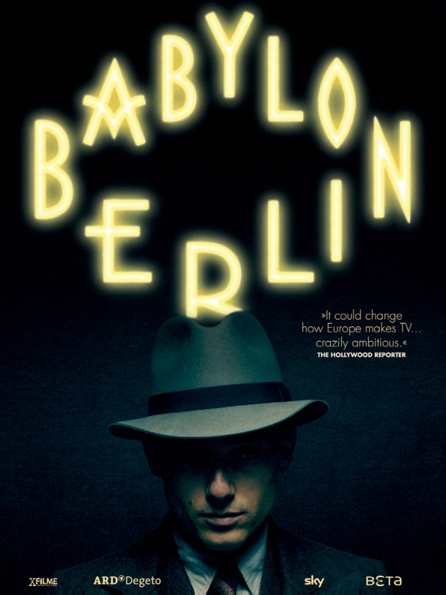"Poster for ""Babylon Berlin"" (Seoul International Drama Awards)"