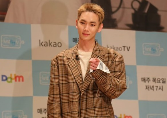Key at a showcase held at KBS Media Center in western Seoul Tuesday afternoon. (SMCNC)