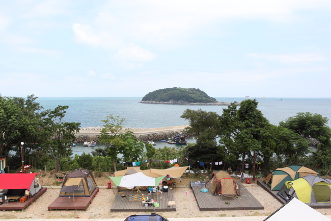 Geumodo Campground (Korea Tourism Organization)