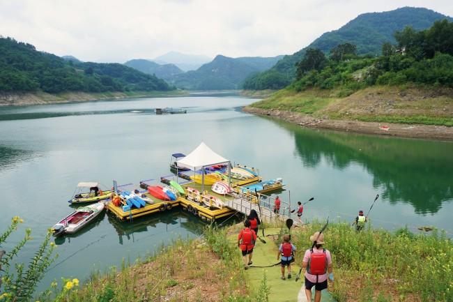 Cheongpung Lake (Korea Tourism Organization)
