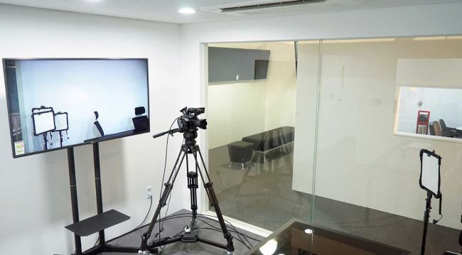 A studio at Jamong Media Space (Media Jamong)