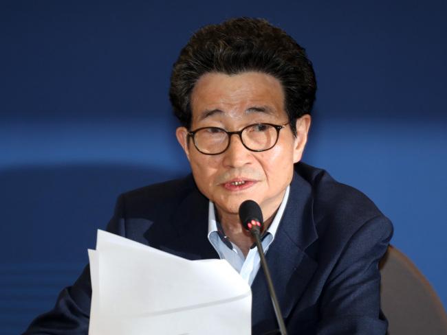 Rhee Mok-hee, vice chairman of the presidential job committee. (Yonhap)