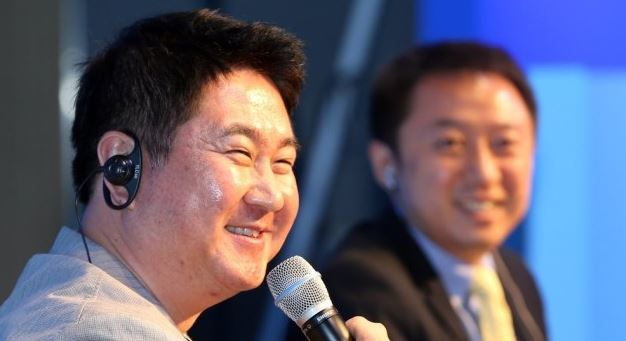Lee Sir-goo, CEO of Dunamu which operates Korea's cryptocurrency exchange Upbit (Yonhap)