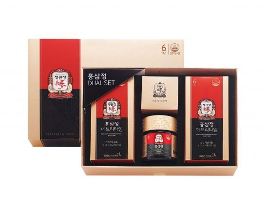Red ginseng gift set (Korea Ginseng Corporation)