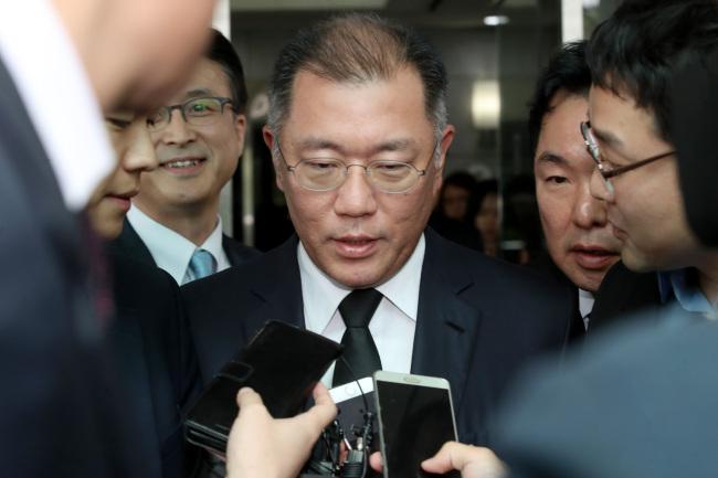 Hyundai Motor Group Executive Vice Chairman Chung Eui-sun (Yonhap)