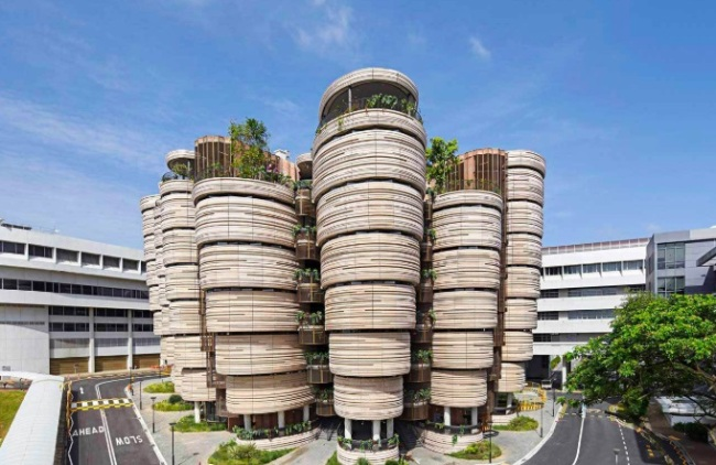 Learning Hub at Nanyang Technological University in Singapore (Heatherwick Studio)