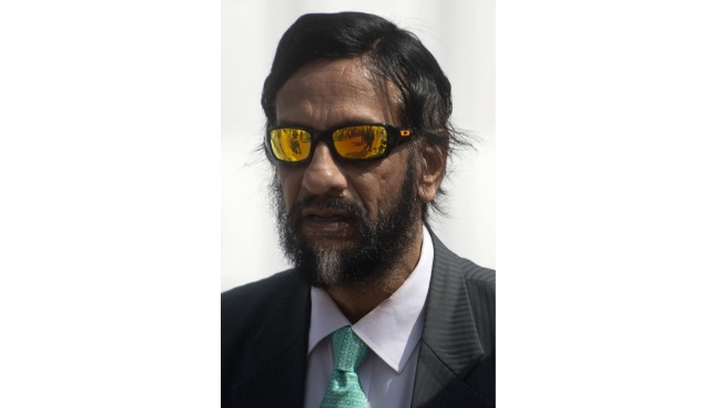 In this file photo taken on December 11, 2014 Indian former UN climate panel chief Rajendra Pachauri attends the UN COP20 and CMP10 climate change conferences in Lima. - Former UN climate panel chief Rajendra Pachauri will stand trial in a sexual assault and harassment case three years after an employee accused him of inappropriate conduct, a lawyer said September 14, 2018. (Yonhap)