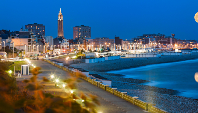 Le Havre is located on the bank of the Seine Estuary in the Normandy region of northwestern France. (France Tourism Development Agency)