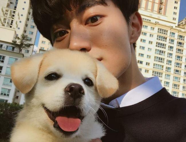 Injeolmi and actor Kwak Dong-yeon (Kwak`s Instagram)