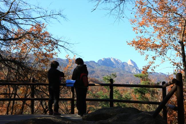 Bukhansan National Park in Seoul (KTO)