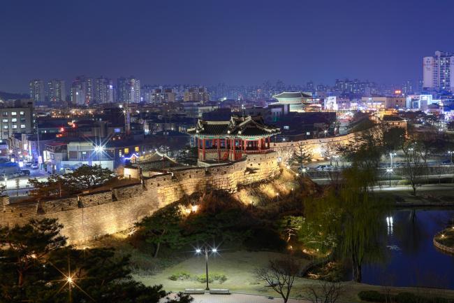 Hwaseong Fortress in Suwon, Gyeonggi Province (KTO)