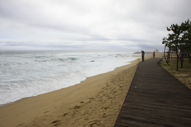 Gyeongpo Beach in Gangneung, Gangwon Province (KTO)