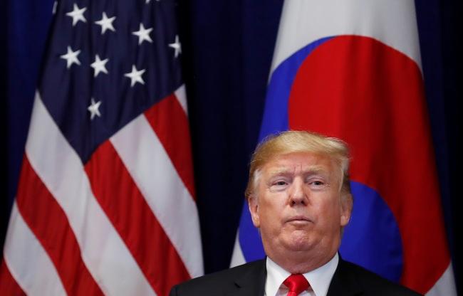 US President Donald Trump. (Yonhap)
