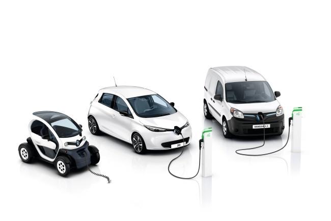 Renault's electric vehicles (Renault Samsung)