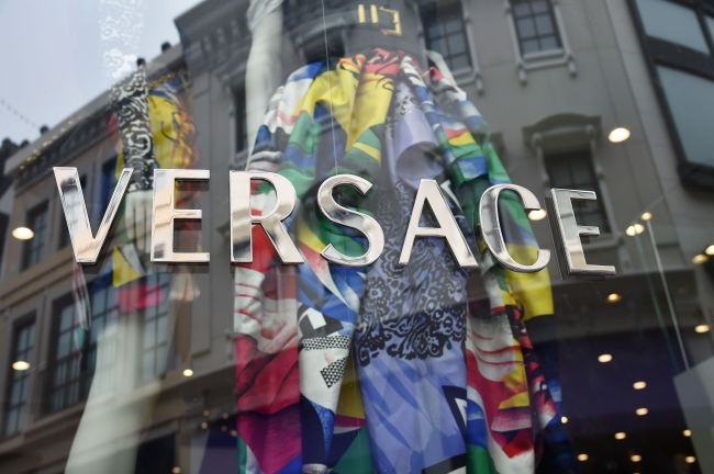 The Versace store in Beverly Hills, California is seen on September 25, 2018. (AFP-Yonhap)