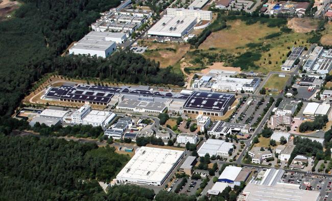 Hyundai Motorsport complex in Alzenau, Germany