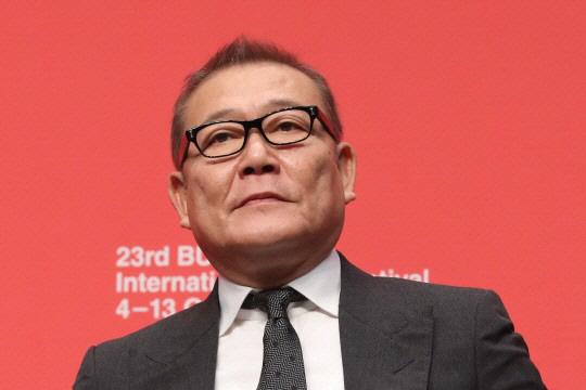 Jun Kunimura is pictured at the 2018 Busan International Film Festival (Yonhap)