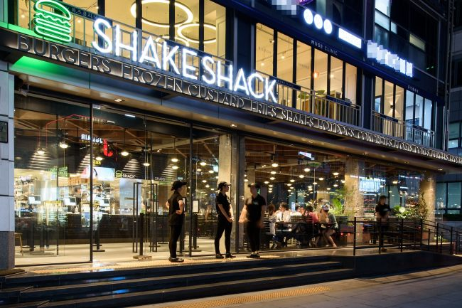 Shake Shack Gangnam outlet (SPC)