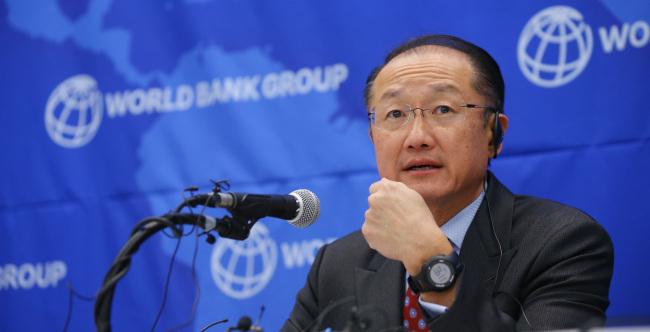 Jim Yong Kim, president of World Bank Group. (Yonhap)