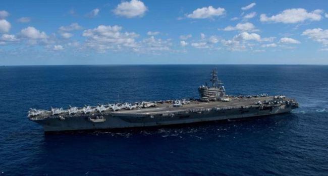 USS Ronald Reagan (US Navy - Yonhap)