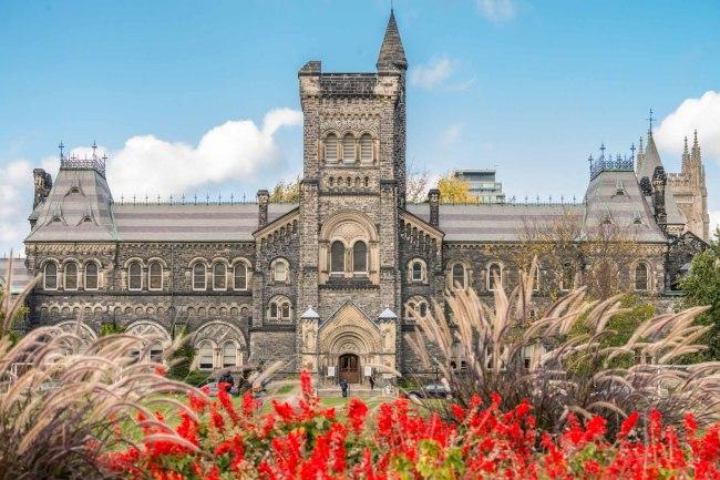 University College at the University of Toronto (UofT)